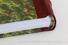 Papieren Avonturen: franse binding