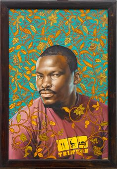 Soly Cisse portrait by Kehinde Wiley (2008)