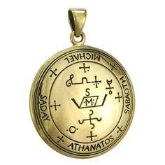 Bronze Sigil of Archangel Michael Enochian Talisman Amulet Angel Jewelry Moonlight Mysteries http://www.amazon.com/dp/B00KGHXNXI/ref=cm_sw_r_pi_dp_yPNQvb10RG2GK