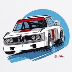 Guy Allen - BMW CSL T Shirt