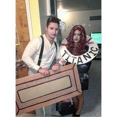 Jack & Rose titanic DIY costume