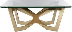 H1/3 Bronze Coffee Table By Jonathan Nesci