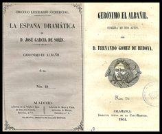 Gerónimo el albañil : comedia en dos actos / por D. Fernando Gómez de Bedoya. http://bvirtual.bibliotecas.csic.es/csic:csicalephbib000548993