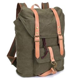 #Vintage Outdoor #Hiking #Canvasbackpack