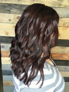 Fall Mahogany hair @hairbychauntel