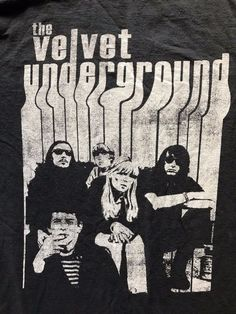 The Velvet Underground Band With Nico T-Shirt Tee Lou Reed Rock & Roll  #DoesnotApply #GraphicTee