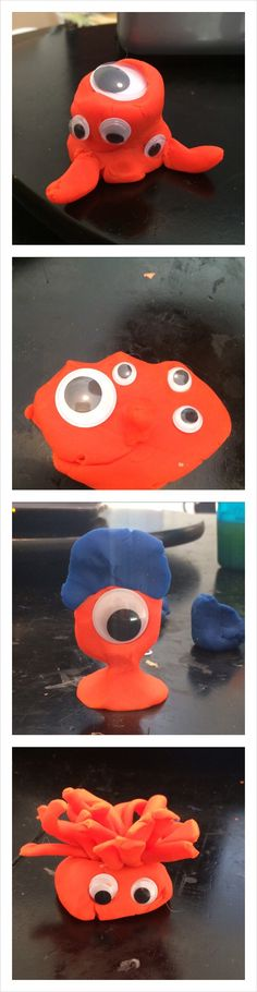 Play-Doh Monsters   Toddler Things