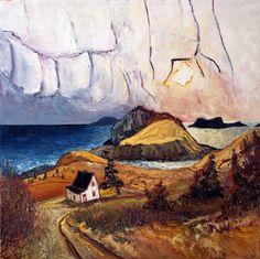 The Cribbies Tors Cove, Atlantic Canada, Newfoundland And Labrador, Prince Edward Island, New Brunswick, Nova Scotia, Gallery, Painting, Art, Kunst