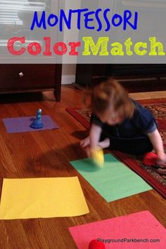 Want a fun, easy and hands-on way to teach your kid colors? Try our Montessori Color Match
