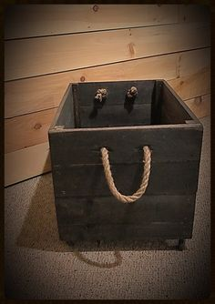 """rolling crate for toys to store in fireplace- custom sizing available.  Best size would be 19""""w x 10""""d x 3""""h"""