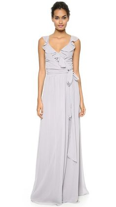 Silver bridesmaid dresses or gray bridesmaid dresses for wedding parties.