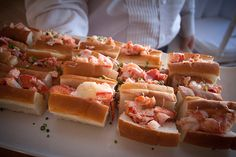 Mini Lobster Rolls ©Michele Stapleton Photography