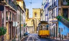 Lisbon city guide: what to see plus the best bars, restaurants and hotels - via The Guardian 08-07-2017 | Portugal's capital is bursting with culture and great places to eat, stay and party – and it's the cheapest city break destination in western Europe. Photo: Lisbon, Portugal tram
