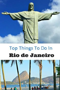 Planning a trip to Rio de Janeiro, Brazil? If not, maybe you should be. Here are the top things to do in Rio de Janeiro - guaranteed stir up a little wanderlust.