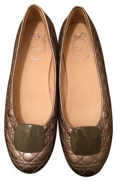 Dior Dark Silver Quilted Ballet Flats. Get the must-have flats of this season! These Dior Dark Silver Quilted Ballet Flats are a top 10 member favorite on Tradesy. Save on yours before they're sold out!