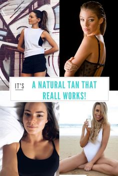"""Do You Want To Know How To Achieve A Natural Looking Tan Without The Mess, Smell, Streaks, Orange Tones Or Nasty Ingredients? """"You have solved all my winter problems. I have been using your products for my character on 800 words and it is the dream! not an Oompa Loompa in site , streak free, great colour THANK YOU. """" Emma Louise Leonard (Tracey from 800 words)."""