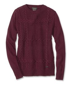 Just found this Barbour+Womens+Crewneck+Sweater+-+Barbour%26%23174%3b+Etal+Cabled+Crewneck+Sweater+--+Orvis on Orvis.com!
