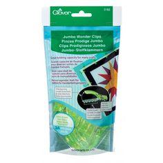 Jumbo Wonder Clips ® Neon Green (24pcs.)