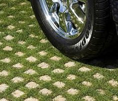 turf grass block paving stones - Google Search