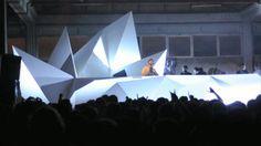 Antivj presents:  NUITS SONORES Stage design + live visuals 23.05.09 / Lyon / France by Yannick Jacquet (legoman), Romain Tardy, Olivier Ratsi, Joanie Lemercier  production:…