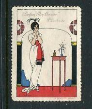 Parfum Mon Amour F Prochaska Reklamemarke Poster Stamp