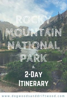 Rocky Mountain National Park in Two Days – Dogwoods & Driftwood Make the most of two days in RMNP with this sample Itinerary for Rocky Mountain National Park! Scenic drives viewpoints hikes etc! Denver Colorado, Road Trip To Colorado, Colorado Hiking, Colorado Waterfalls, Colorado Springs, Alberta Canada, Rocky Mountains, Colorado Mountains, Colorado National Parks