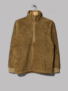 A Kind Of Guise Mani Zip Pullover (Camel)