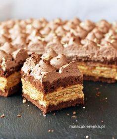 Ciasto Kakaowa Krówka z Krakersami Polish Cake Recipe, Polish Recipes, Good Food, Yummy Food, Low Carb Side Dishes, Food Cakes, How Sweet Eats, Cake Cookies, No Bake Cake