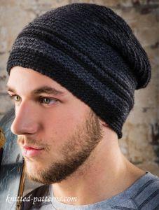 Men's beanie free crochet pattern