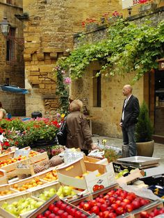 Market in the Dordogne ~ France