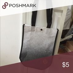 Lululemon Reusable Tote New color! Buy this and the red one for $8 and save on shipping! lululemon athletica Bags Totes