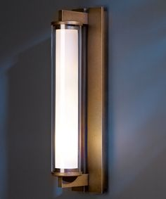 Fuse Outdoor Wall Sconce by Hubbardton Forge Outdoor Wall Sconce, Outdoor Wall Lighting, Outdoor Walls, Outdoor Furniture, Front Door Lighting, Bathroom Light Fixtures, Wall Sconces, Wall Lamps, Glass Shades