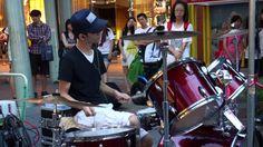"20130628 李科穎《無敵鐵金剛》 高畫質 1080p HD Jazz Drummer ""Ke Ying"""