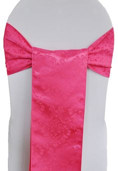 Marquis Damask sashes rental 718-744-8995, www.newyorksublimeevents.com Chair Cover Rentals, Chair Ties, Spandex Chair Covers, Marquis, Sash, Damask, Color, Style, Weddings