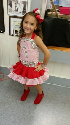 National Pageant Casual Wear Winner. Facebook: Paulina's Pageant Designs