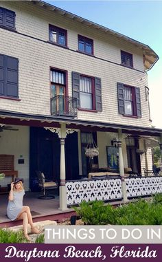 Things to do in Daytona Beach, Florida. The Stetson Mansion is the former home of John B. Stetson and wife Elizabeth passed through six families after Stetson's death in 1906, until the current owners stumbled across it in 2005. Since then, it's been lovingly restored  – dotted with original Stetson hats, of course – as a fitting tribute to its former owner. Join the popular behind-the-scenes tour to discover the history behind the hats, and other attractions on my #DriveUS1 US road trip.