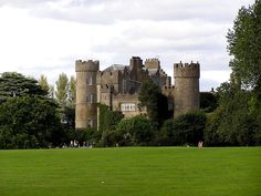 Malahide Castle, Co. Dublin, one of the oldest castles in Ireland.