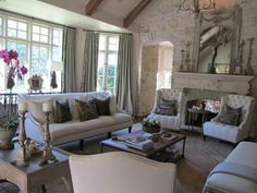Country Traditional On Pinterest Great Rooms Ceilings And Living