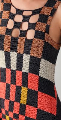 JEN KAO | S/S '12.       ♪ ♪ ... #inspiration_crochet #diy GB