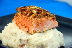 great new recipe for salmon with healthy roasted pumpkin seeds, get ...