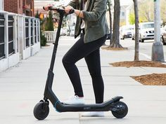 $900 CityBug2's electric scooter, discovered by The Grommet, releases no emissions and uses push-pull technology. Easily folds up to store.