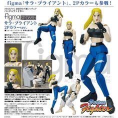 figma Virtua Fighter - Sarah Bryant 2P Color Version by Max Factory