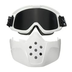 09b1b6099c6 Motorcycle Riding Protective Helmet Detachable Face Mask Shield Goggles  Colorful