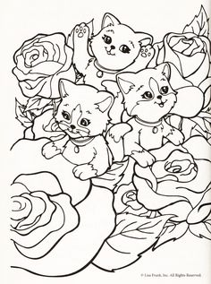 Blog devoted to coloring pages. I welcome and hope for you to submit scans from your own collection...Lisa Frank, coloring pages, scan.