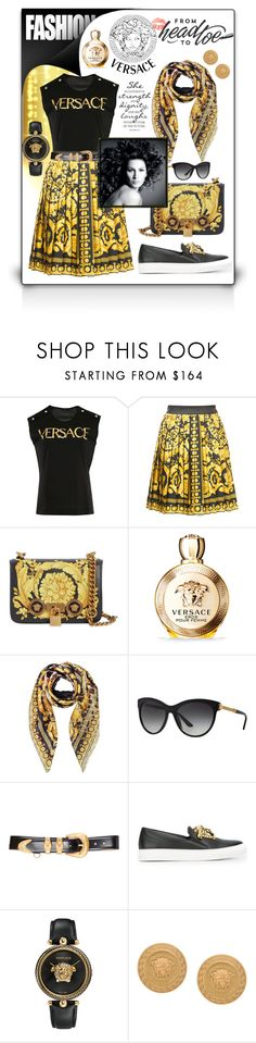 """""""From Head to Toe: VERSACE!"""" by nova5ta5ia ❤ liked on Polyvore featuring Versace"""