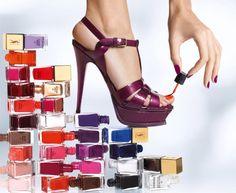 Esmalte o seu dia!: Coleção La Laque Couture - YSL Confiram: http://esmalteoseudia.blogspot.com.br/2012/06/colecao-la-laque-couture-ysl.html