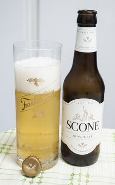 Scone Blond Ale. Golden Ale. 5.5º