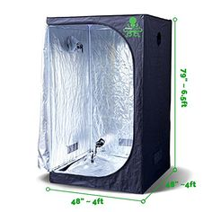 Hydrokraken Hydroponic Indoor Grow Tent Heavy Duty Mylar Fabric Grow Room for Efficient Indoor Plant Growth x x Grow like a monster with  sc 1 st  Pinterest & MarsHydro Grow Tent 120x120x200cm and Mars II 900 Led Grow Light ...