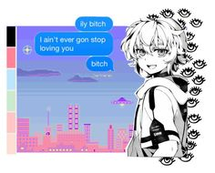 """Not Gonna Leave you"" by namiko-shuuya ❤ liked on Polyvore featuring art"