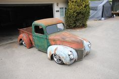 My 1940 Ford Rat Rod (under construction) Old Fords, Toy Boxes, Old Trucks, Pin Up Girls, Rats, Hot Rods, Antique Cars, Bike, Construction